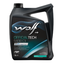 Моторное масло Wolf Officialtech 5W-30 C3