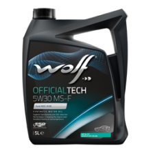 Моторное масло Wolf Officialtech 5W-30 MS-F
