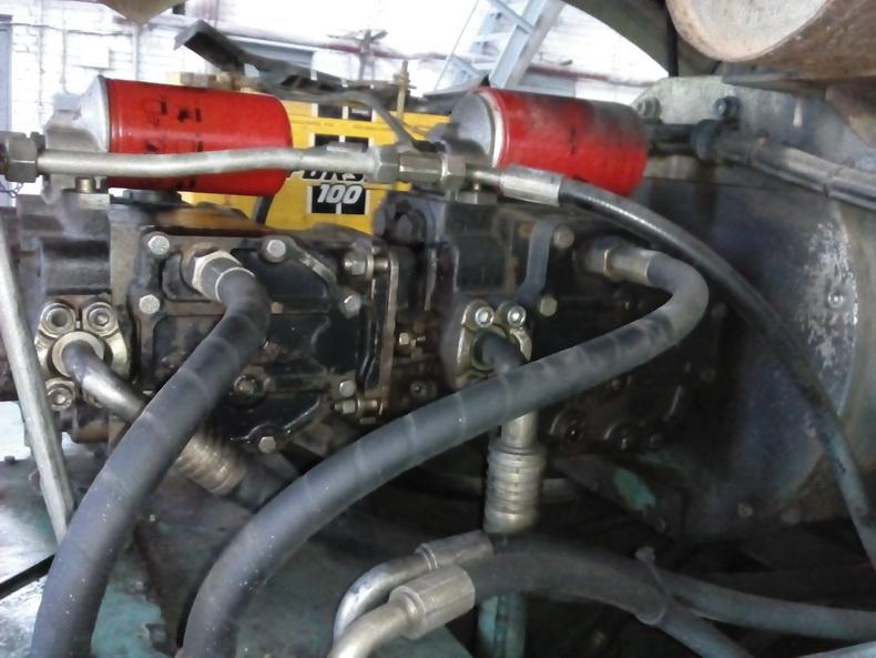 ремонт гидромотора на виброкатке