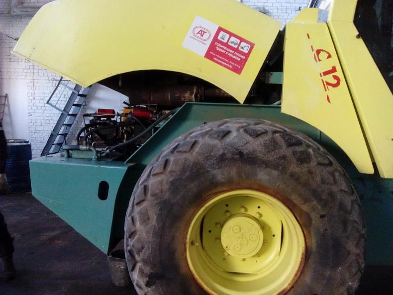ремонт гидромотора на виброкатке 2